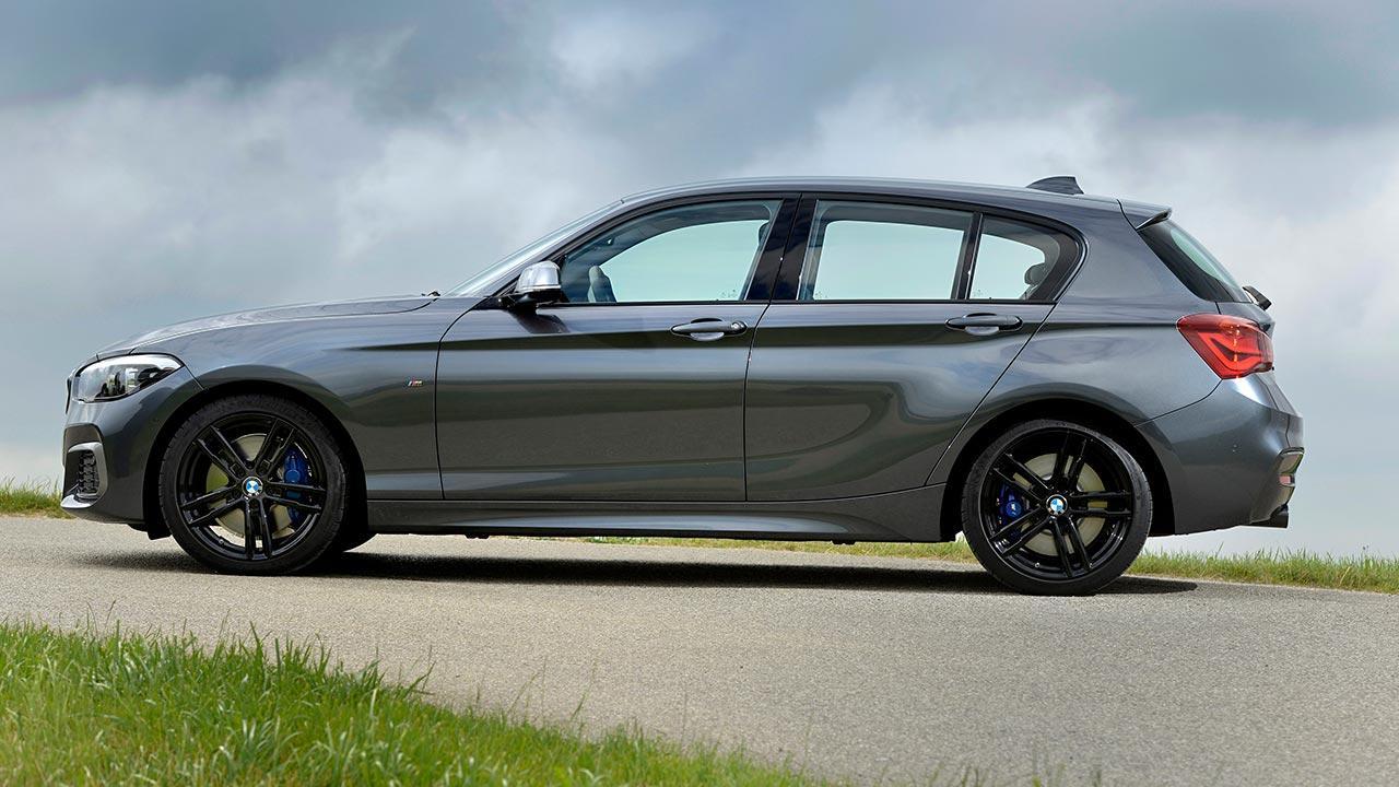 BMW 1er 5-Türer - Seitenansicht