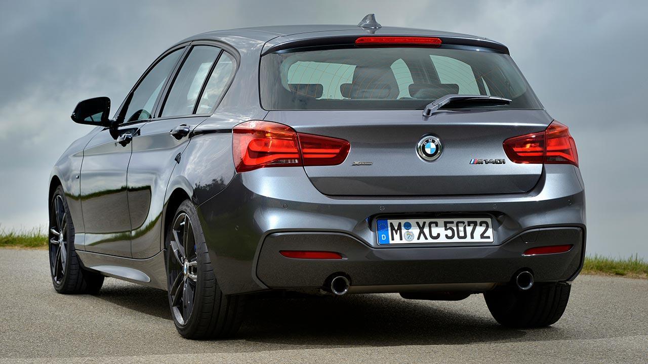 BMW 1er 5-Türer - Heckansicht