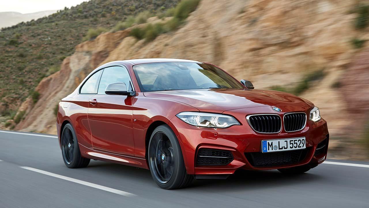 BMW 2er M240i - auf der Landstraße