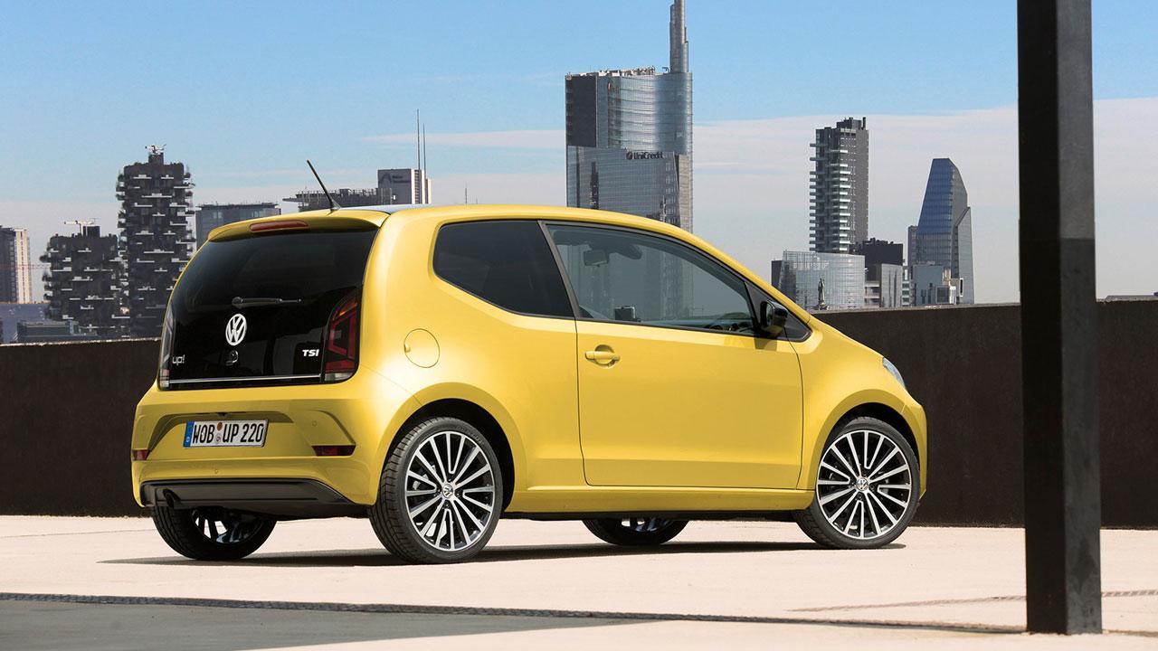 Volkswagen up! - Heckansicht