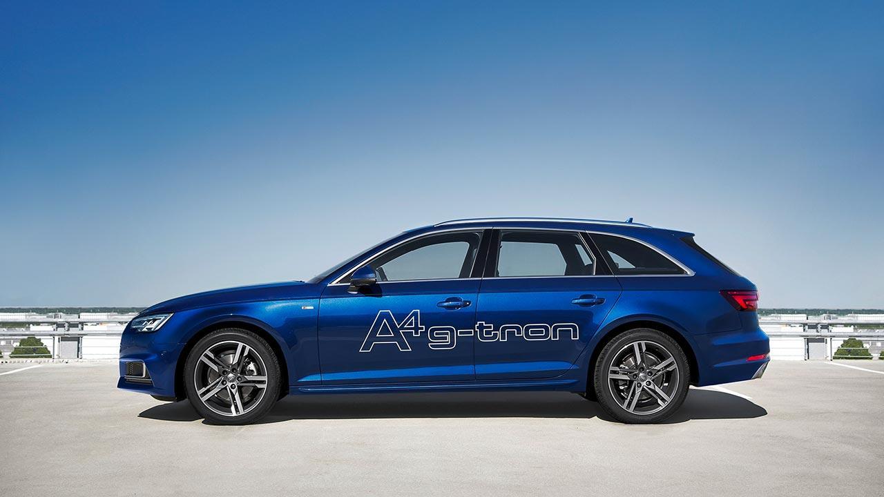 Audi A4 Avant g-tron - Seitenansicht