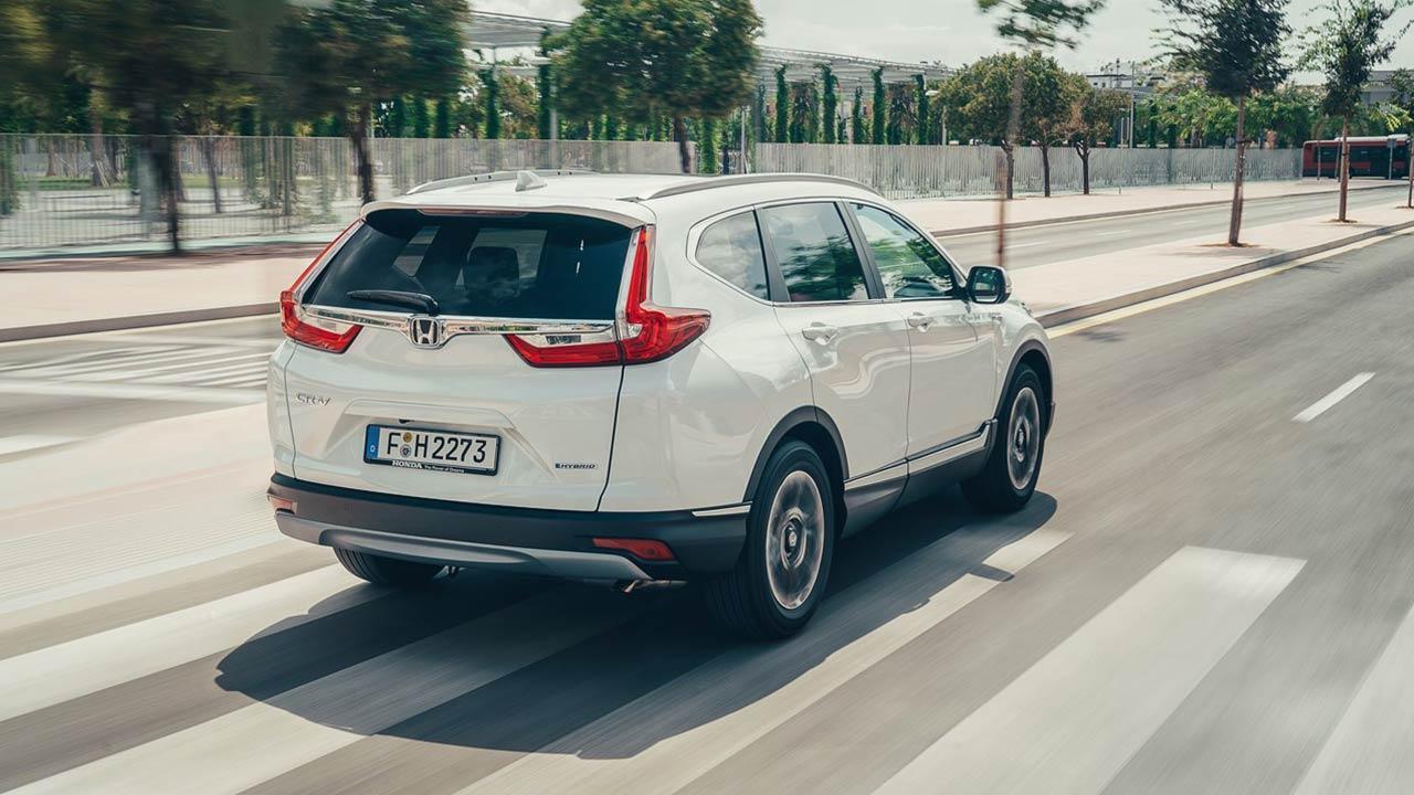 Honda CR-V Hybrid - Heckansicht
