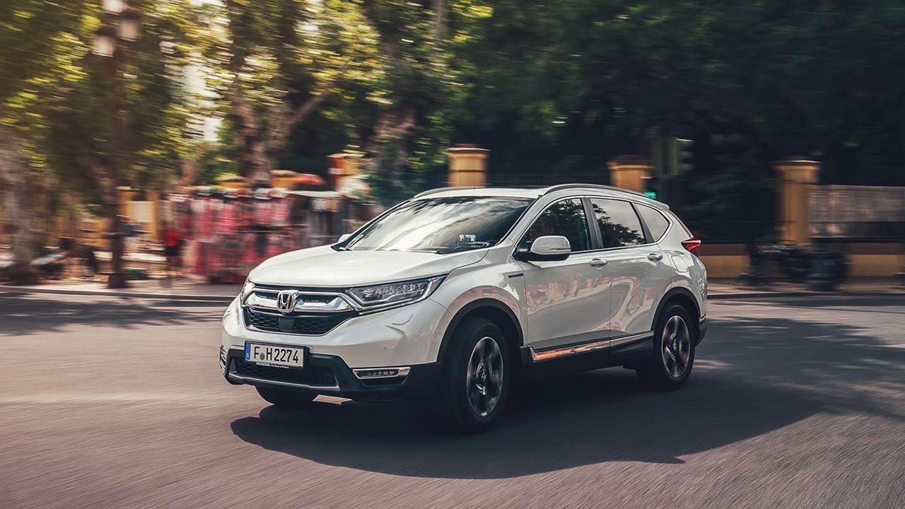 Honda CR-V Hybrid - in voller Fahrt