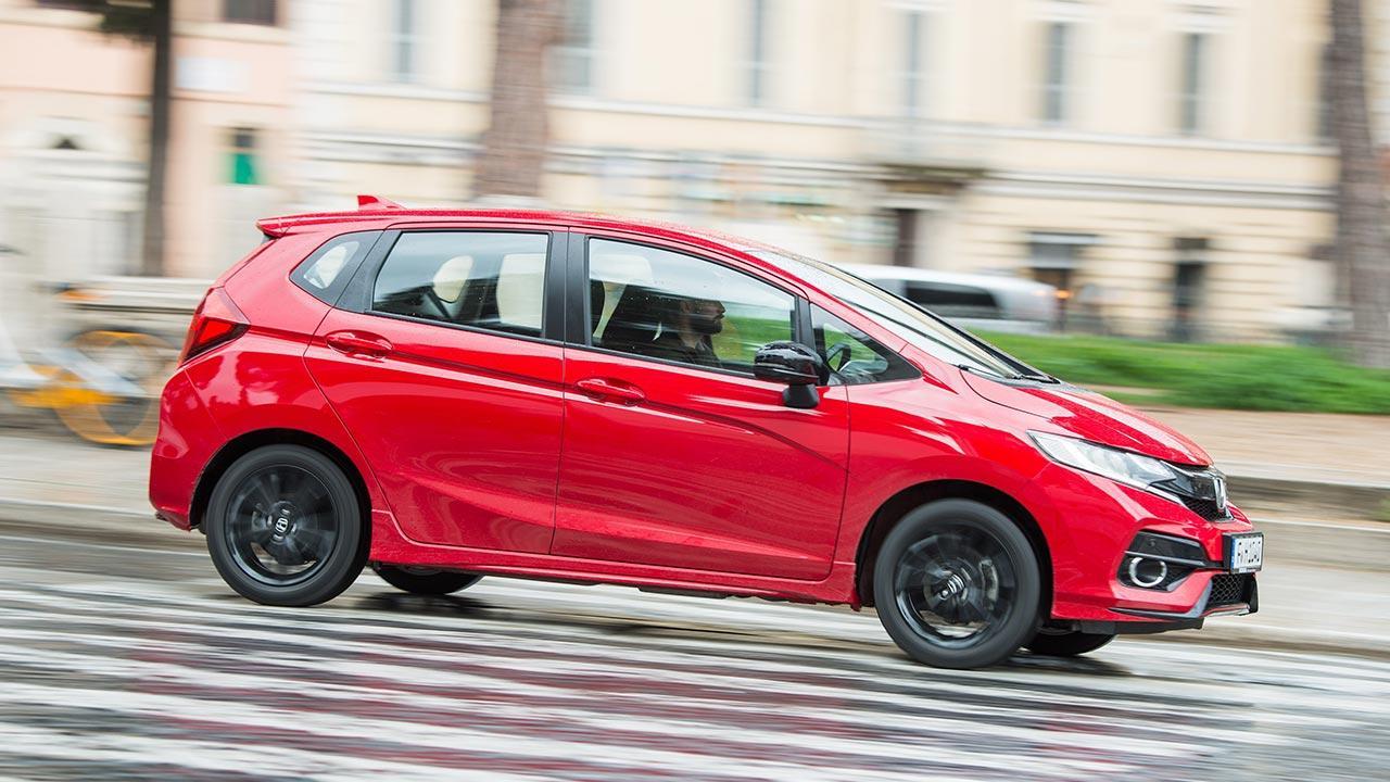 Honda Jazz - Seitenansicht