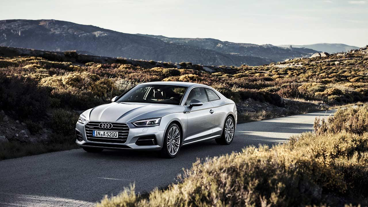 Audi A5 Coupè 2019 - über die Landstraße