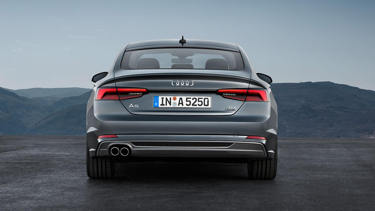 Audi A5 Sportback 2019 - Rückansicht