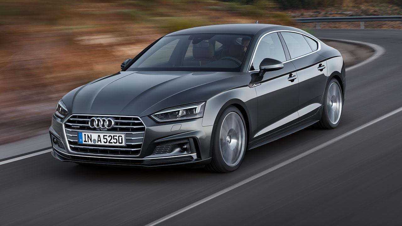 Audi A5 Sportback 2019 - in voller Fahrt