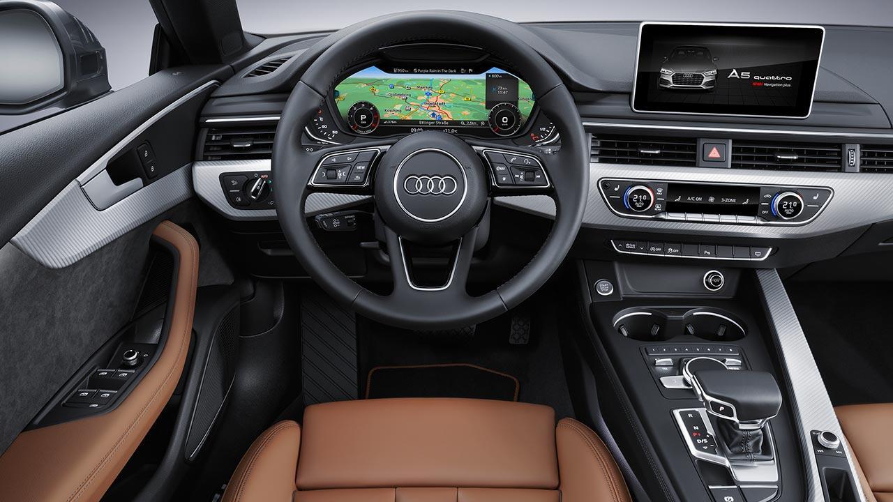 Audi A5 Sportback 2019 - Cockpit