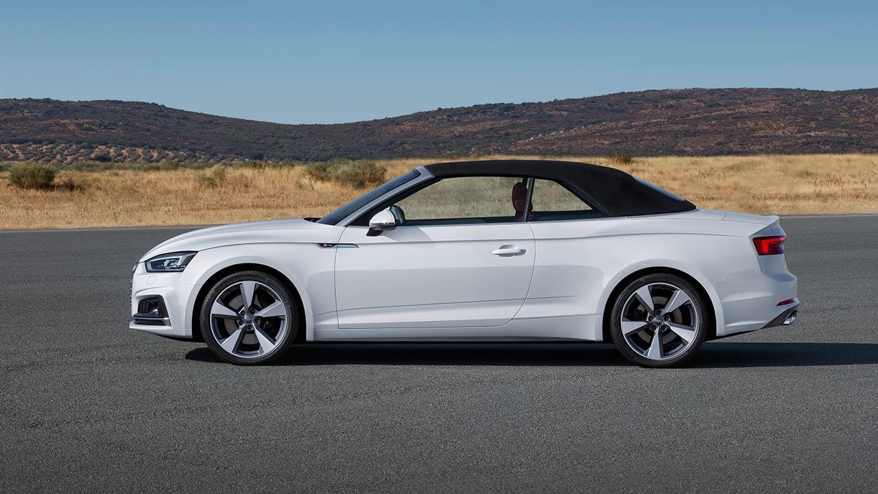 Audi A5 Cabriolet 2019 - Seitenansicht