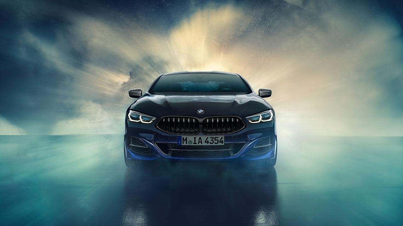 BMW M850i xDrive Coupé Night Sky - Frontansicht
