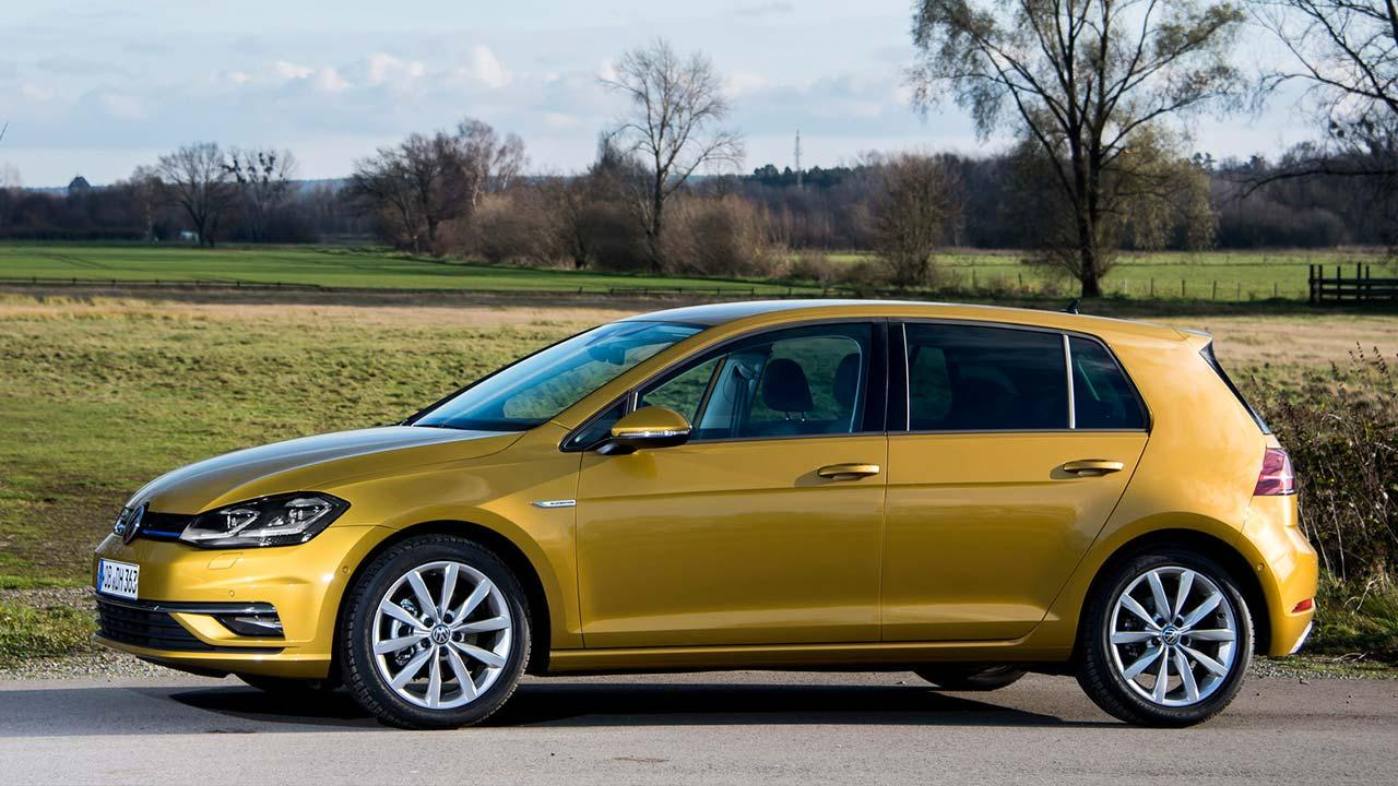 Volkswagen Golf VII Limousine - Seitenansicht