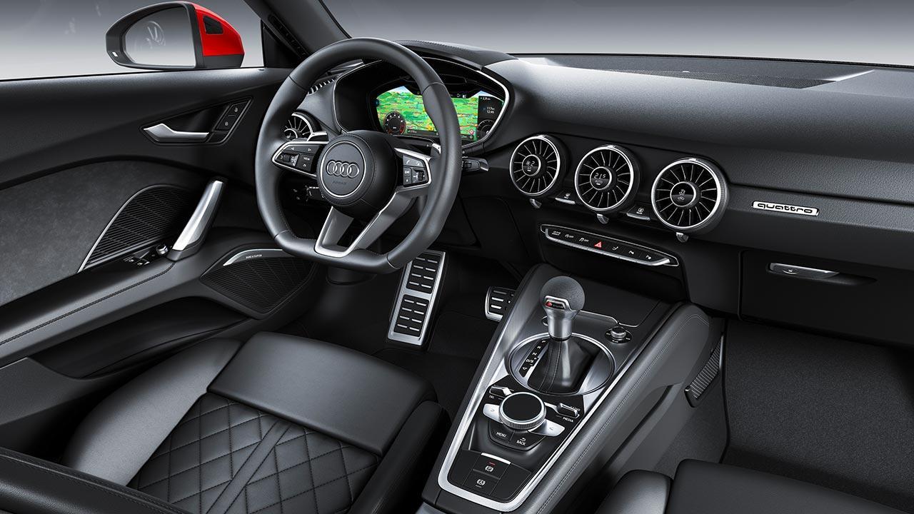 Audi TT Coupé - Cockpit