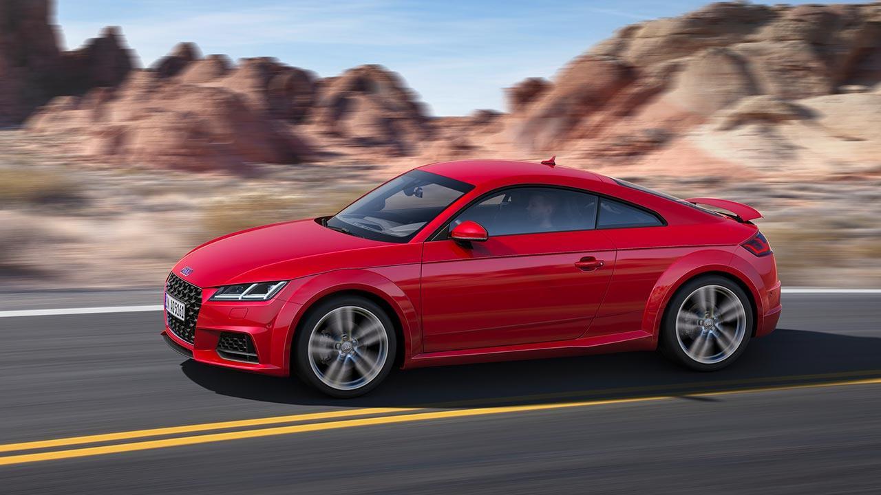 Audi TT Coupé - Seitenansicht