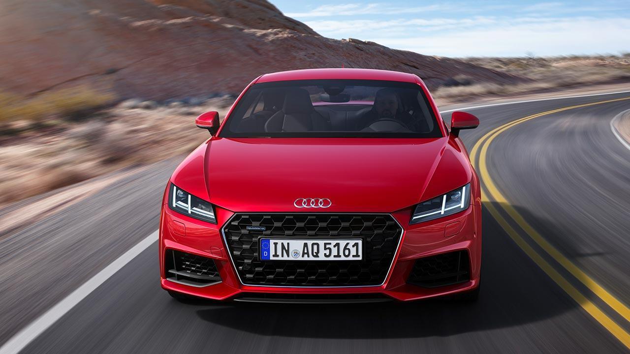 Audi TT Coupé - Frontansicht