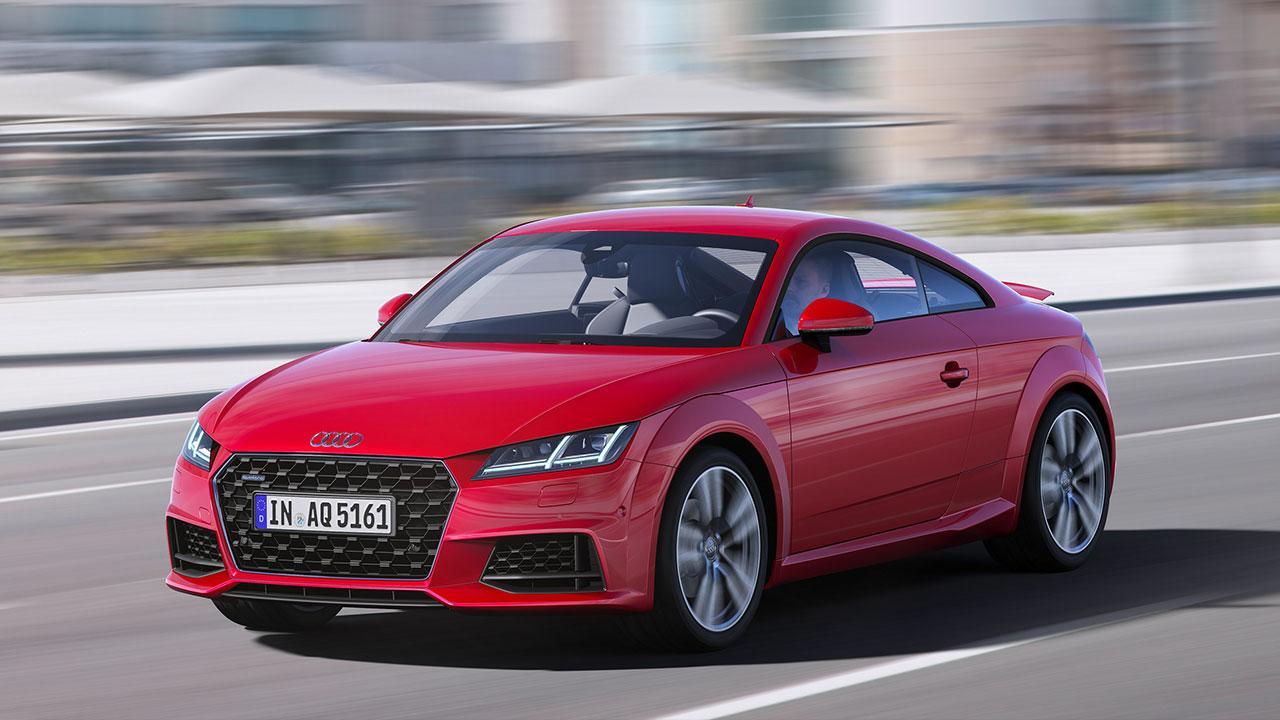 Audi TT Coupé - auf der Rennstrecke
