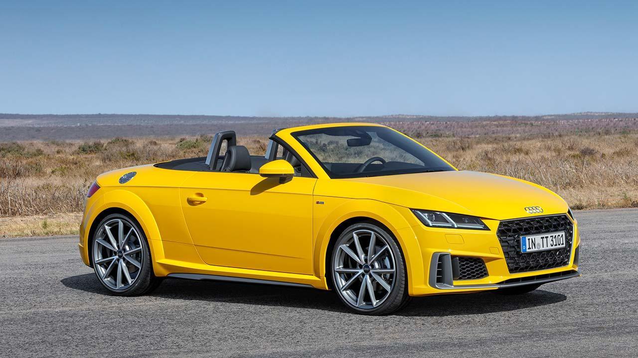 Audi TT Roadster - Seitenansicht