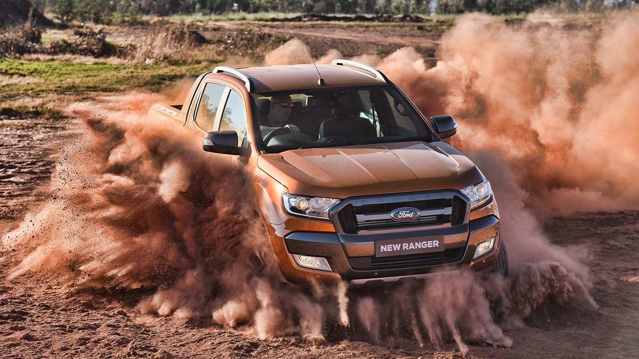 Ford Ranger Raptor - in voller Action