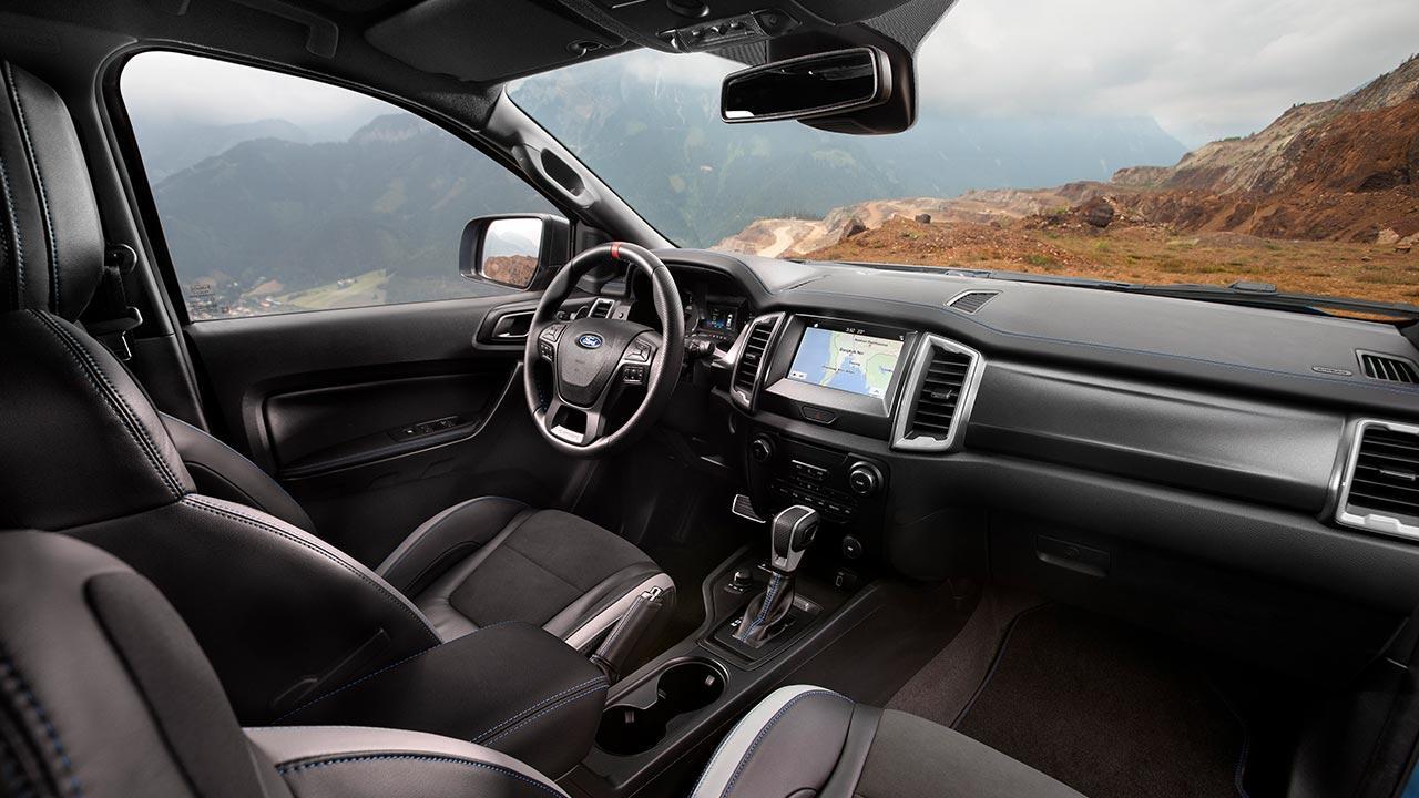 Ford Ranger Raptor - Cockpit