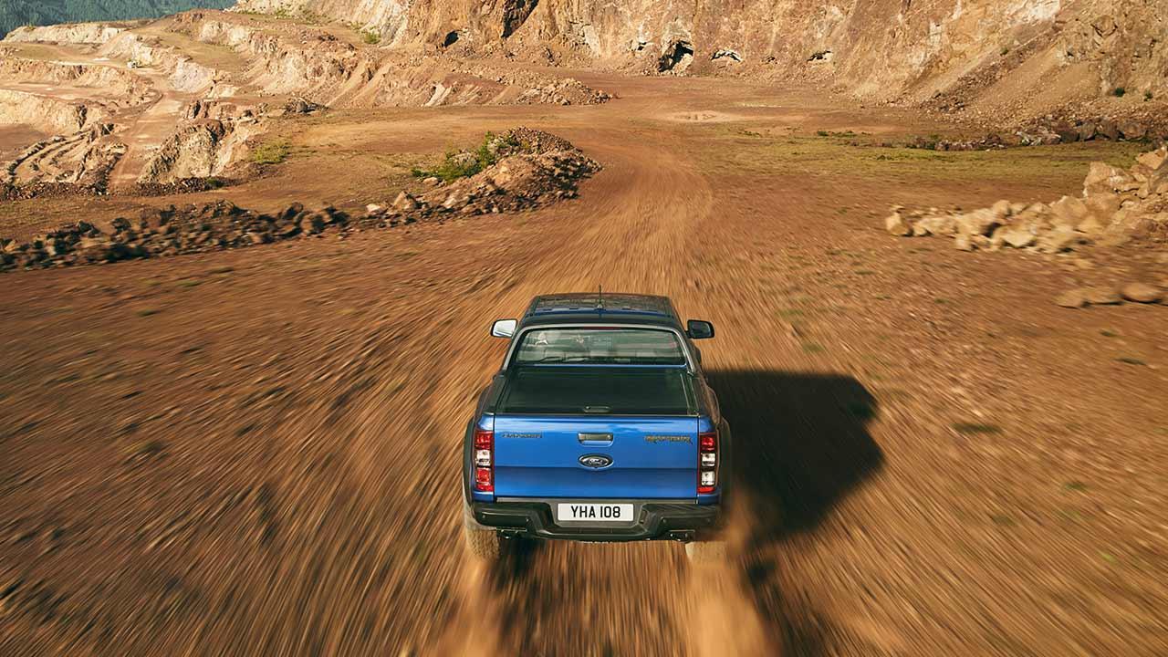 Ford Ranger Raptor - auf der Sandpiste