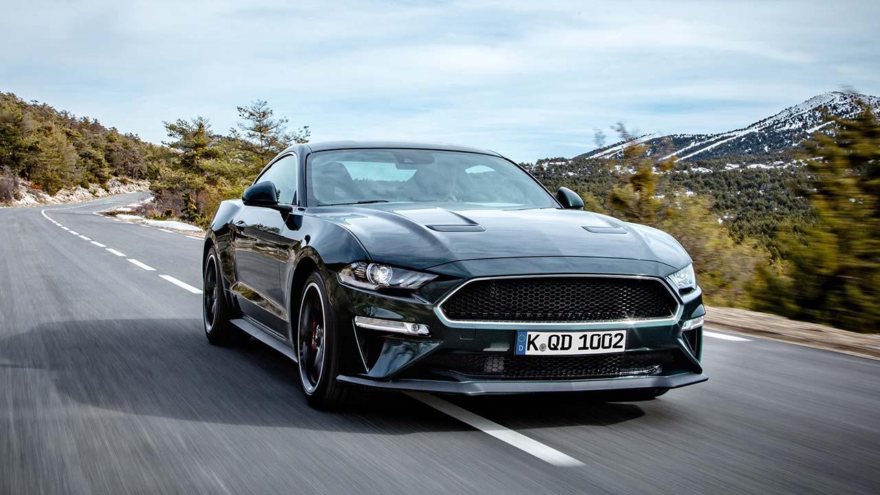 Ford Mustang - in voller Fahrt