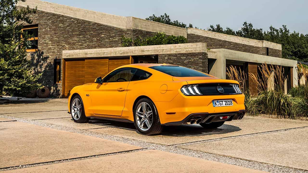 Ford Mustang - Heckansicht