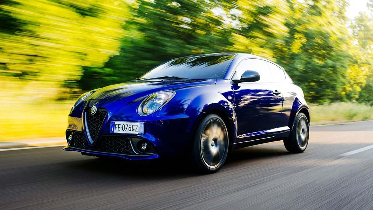 Alfa Romeo MiTo - in voller Fahrt