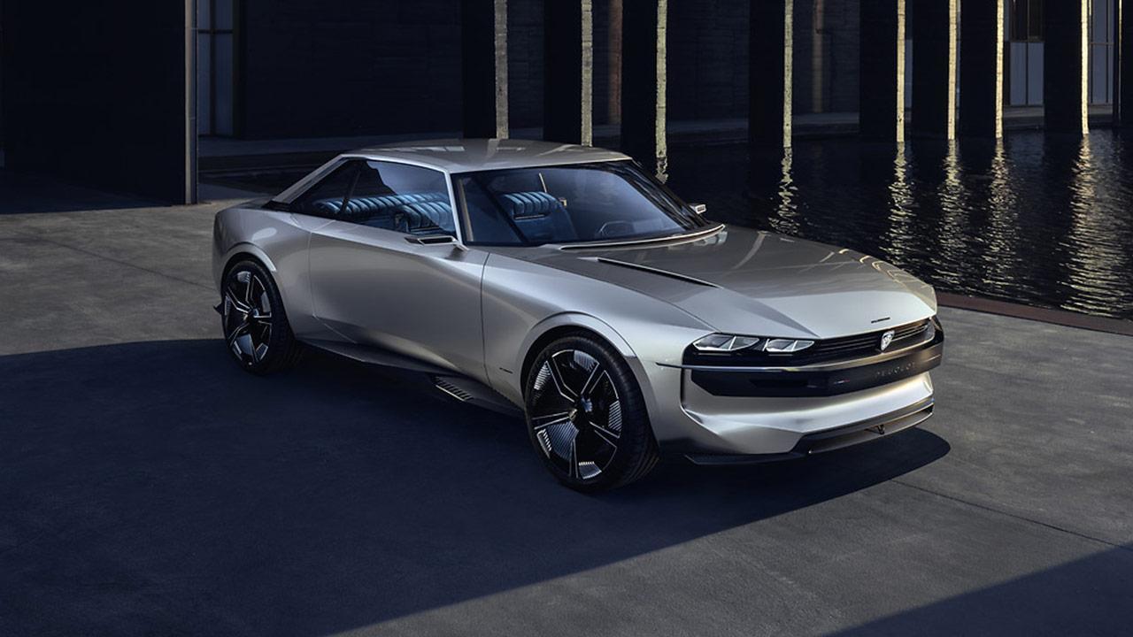 Peugeot e-Legend - Totalaufnahme