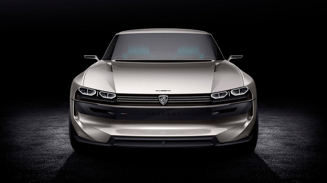 Peugeot e-Legend - Frontansicht