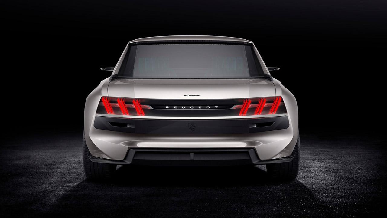 Peugeot e-Legend - Heckansicht