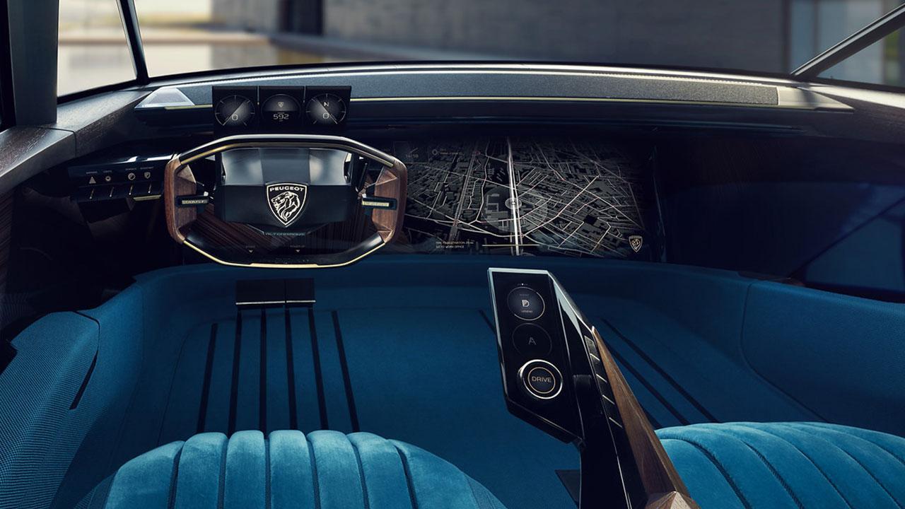 Peugeot e-Legend - Cockpit