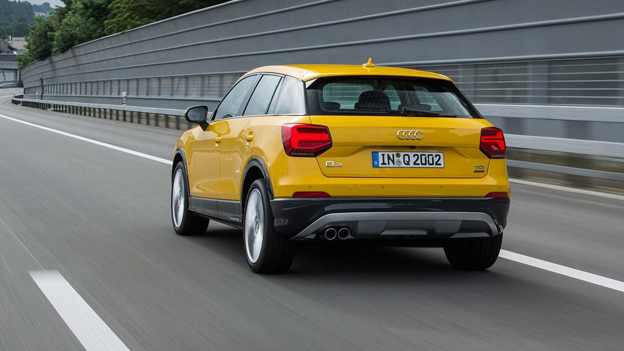 Audi Q2 - Heckansicht