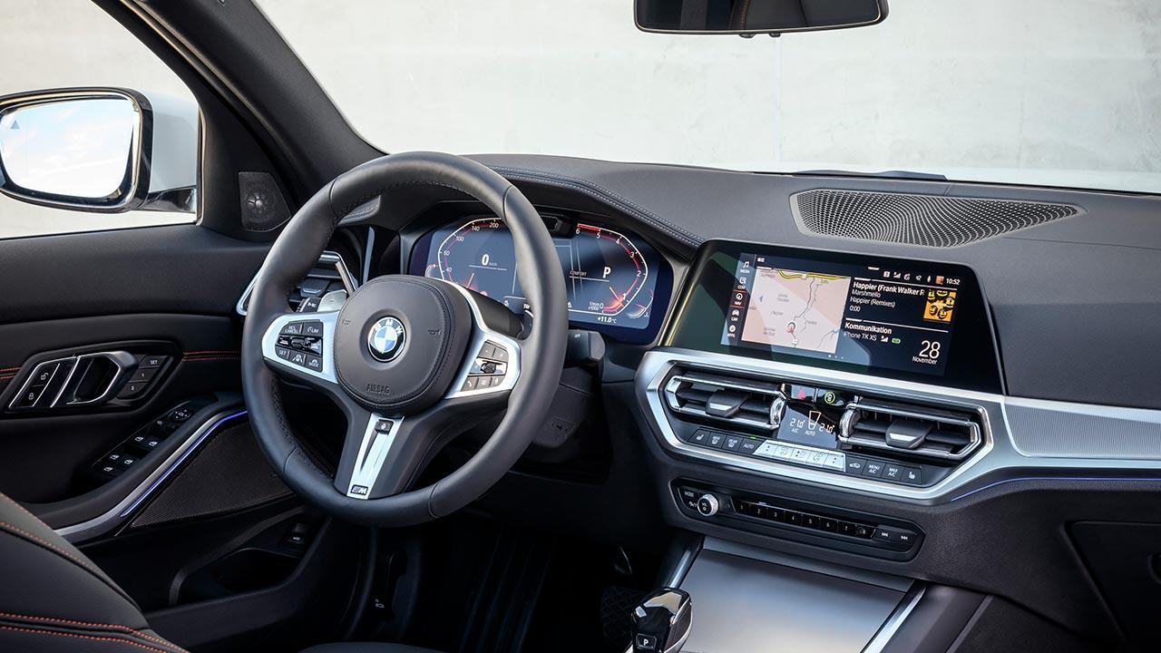 BMW 3er Limousine - Cockpit