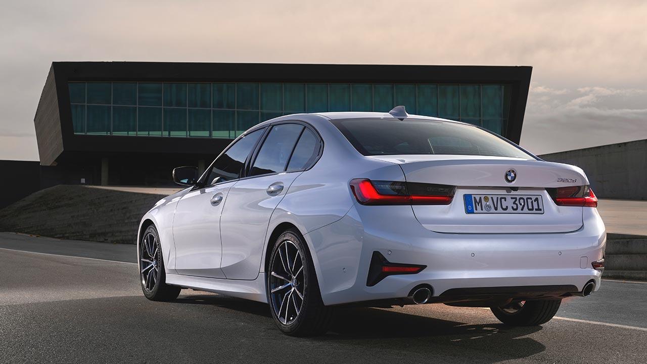 BMW 3er Limousine - Heckansicht