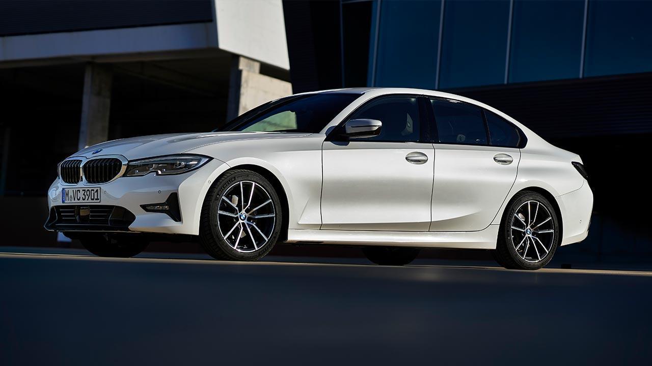 BMW 3er Limousine - Seitenansicht
