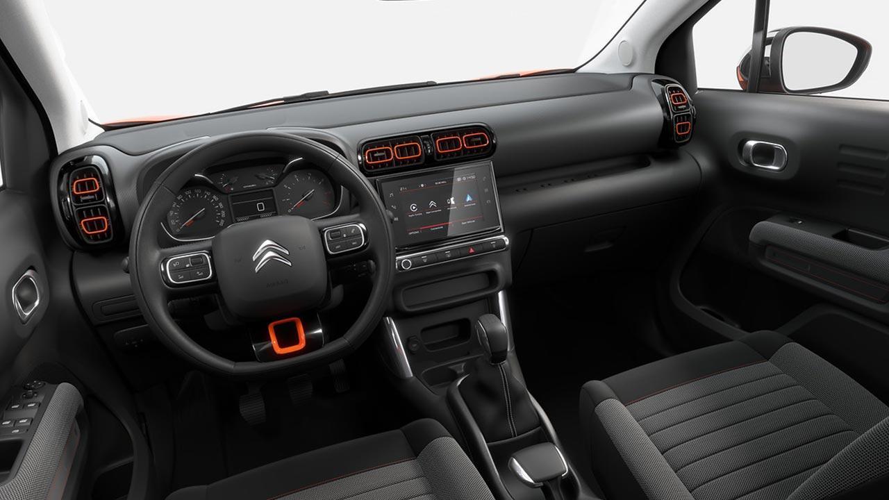 Citroen C3 Aircross - Cockpit