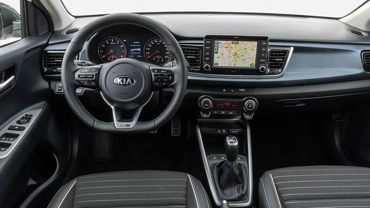 Kia Rio - Cockpit