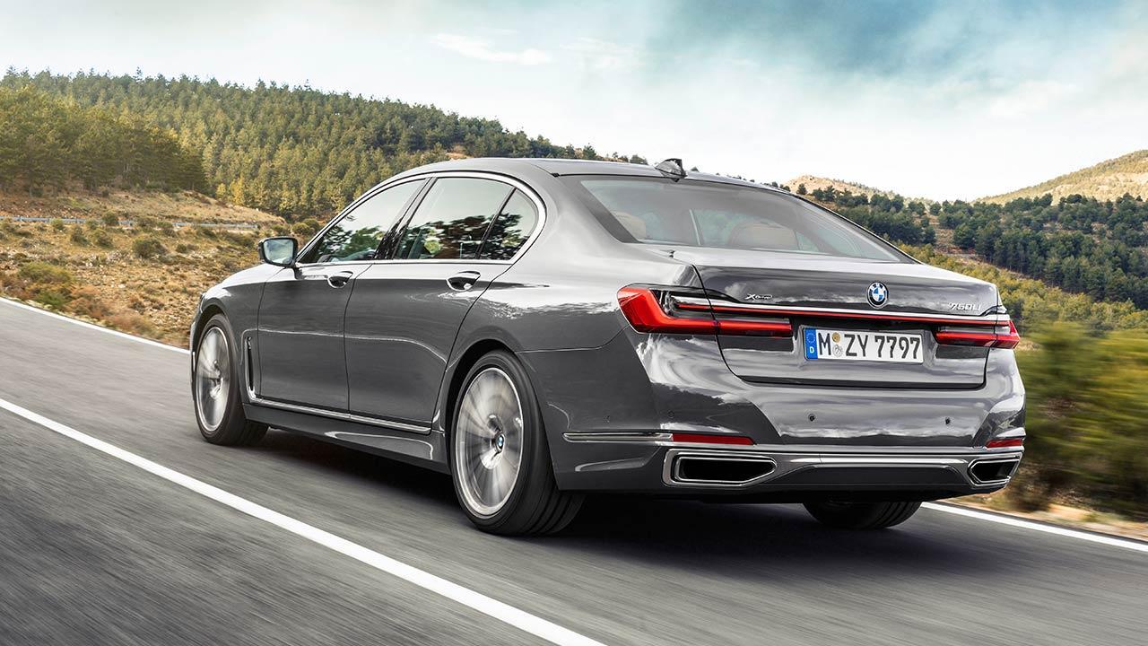 BMW 7er Limousine (2019) - Heckansicht