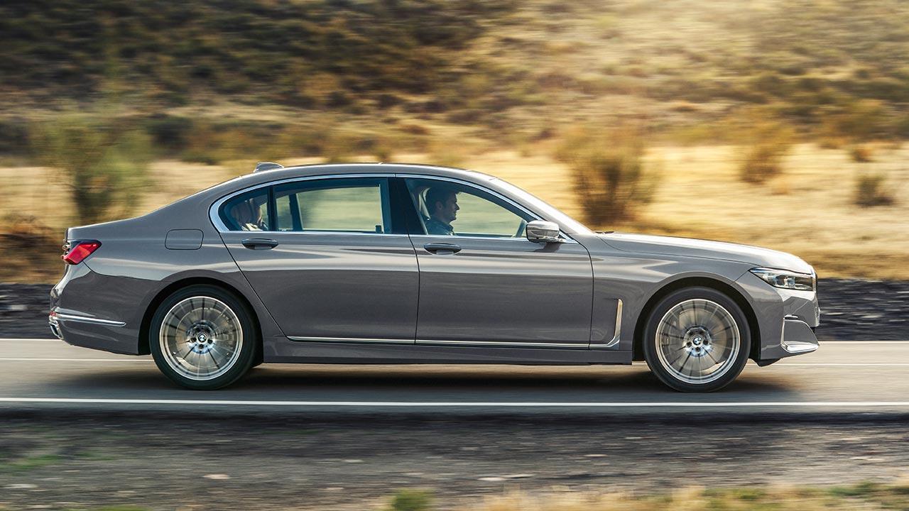 BMW 7er Limousine (2019) - Seitenansicht