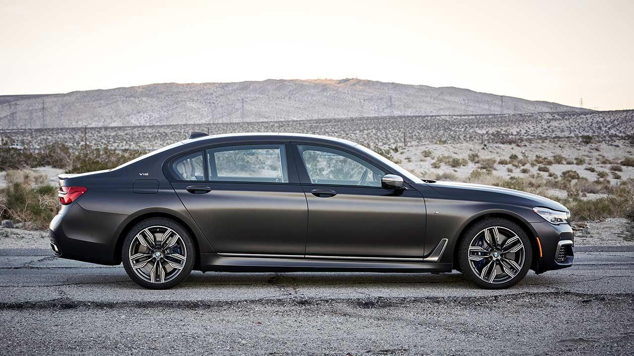 BMW M760 (2019) - Seitenansicht