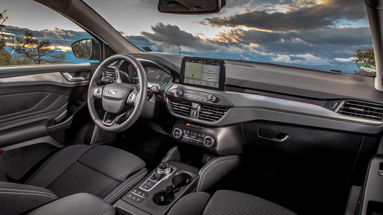 Ford Focus Turnier - Cockpit