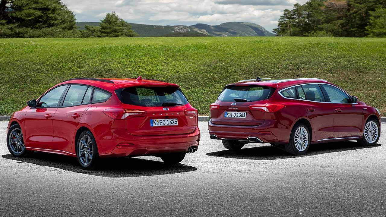 Ford Focus Turnier - 2 Farben