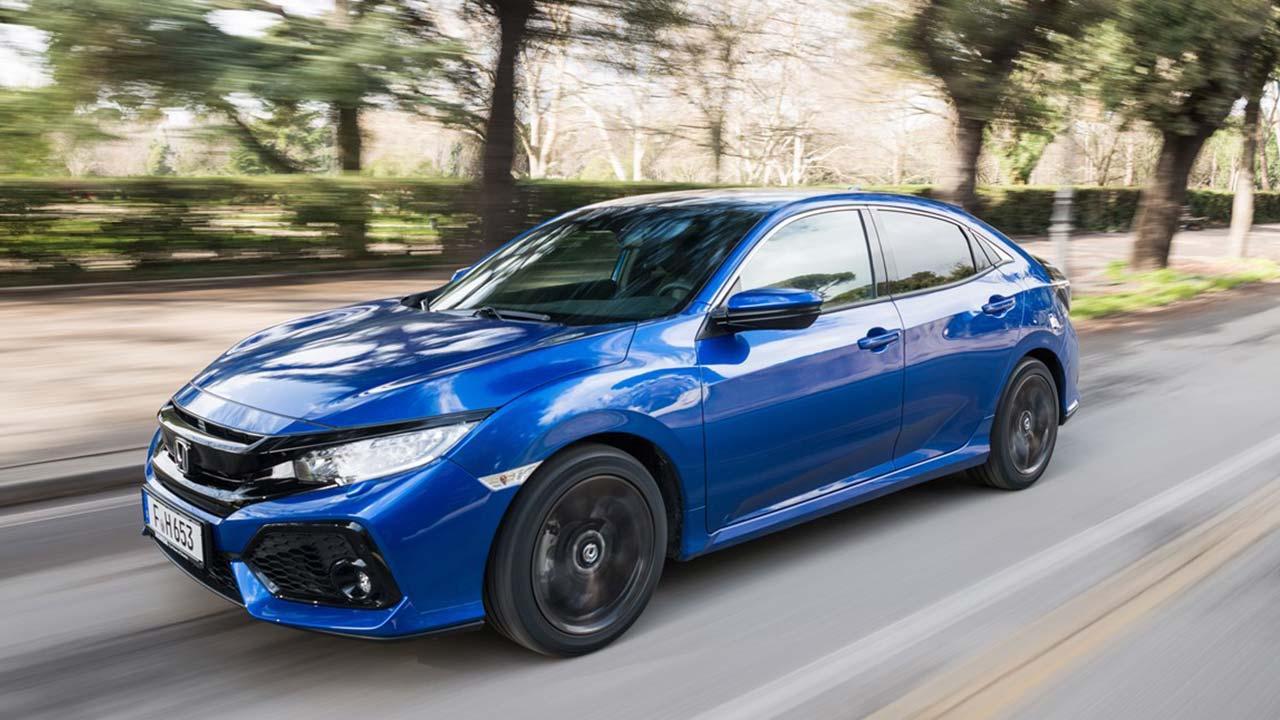 Honda Civic - in voller Fahrt