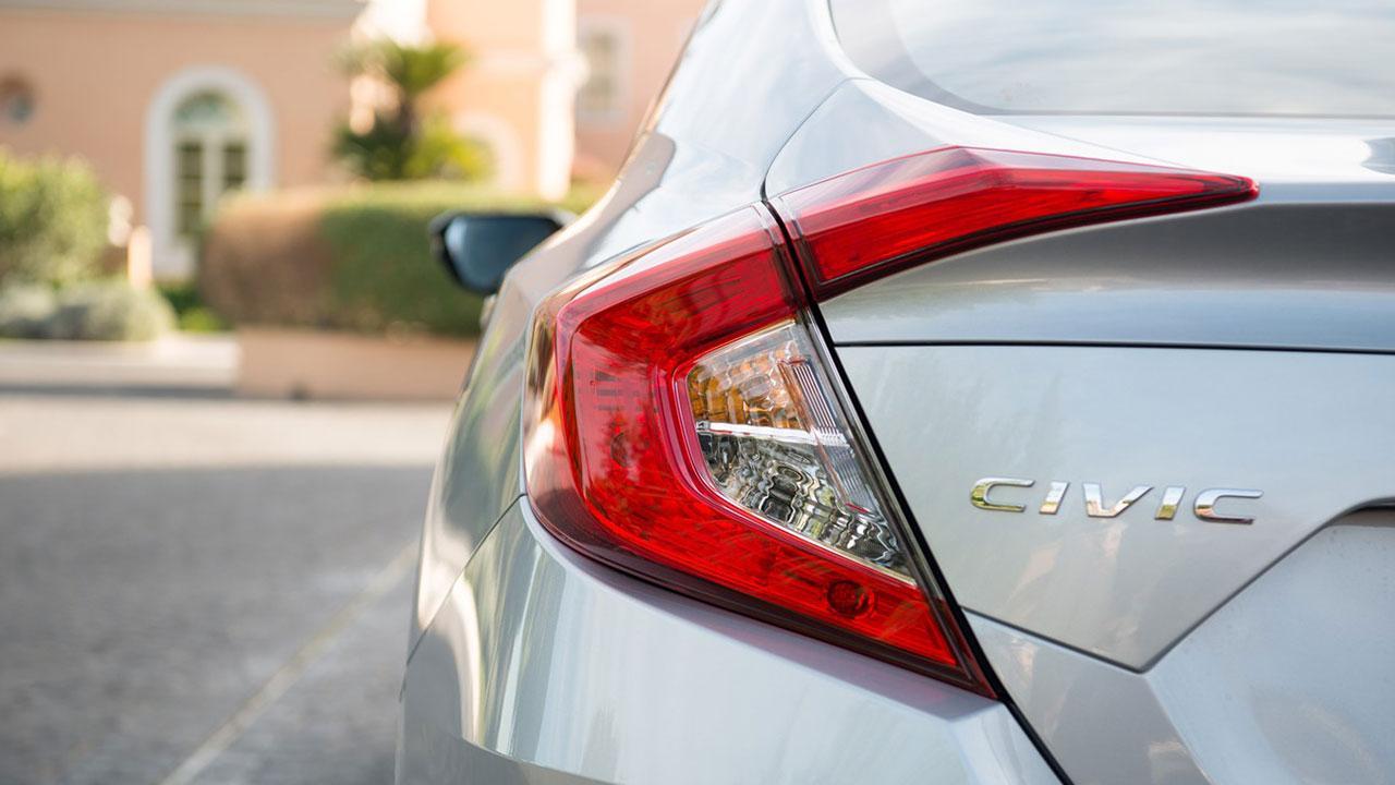 Honda Civic Limousine - Schriftzug