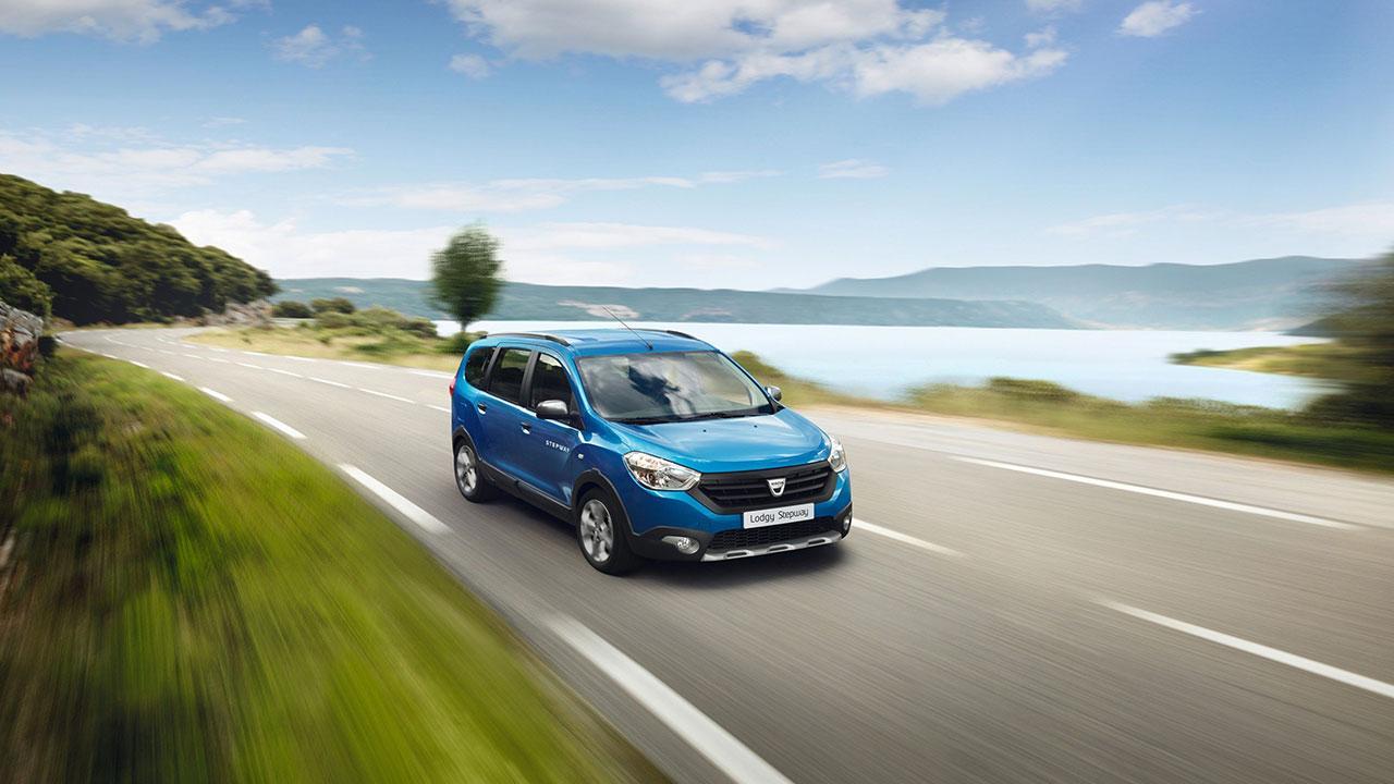 Dacia Lodgy - in voller Fahrt