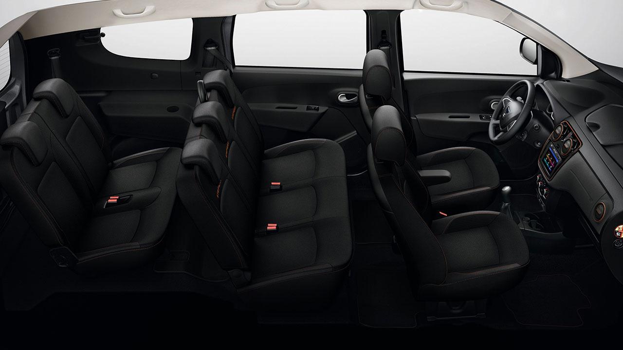 Dacia Lodgy - Cockpit und Sitze