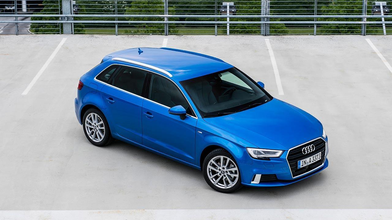 Audi A3 Sportback (2019) - Vogelperspektive