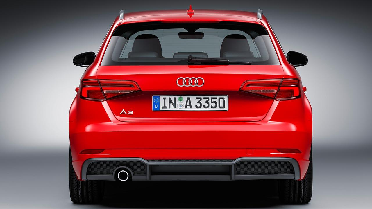 Audi A3 Sportback (2019) - Heckansicht