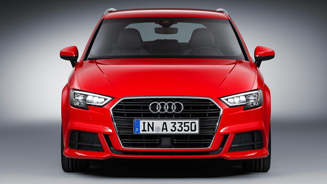 Audi A3 Sportback (2019) - Frontansicht