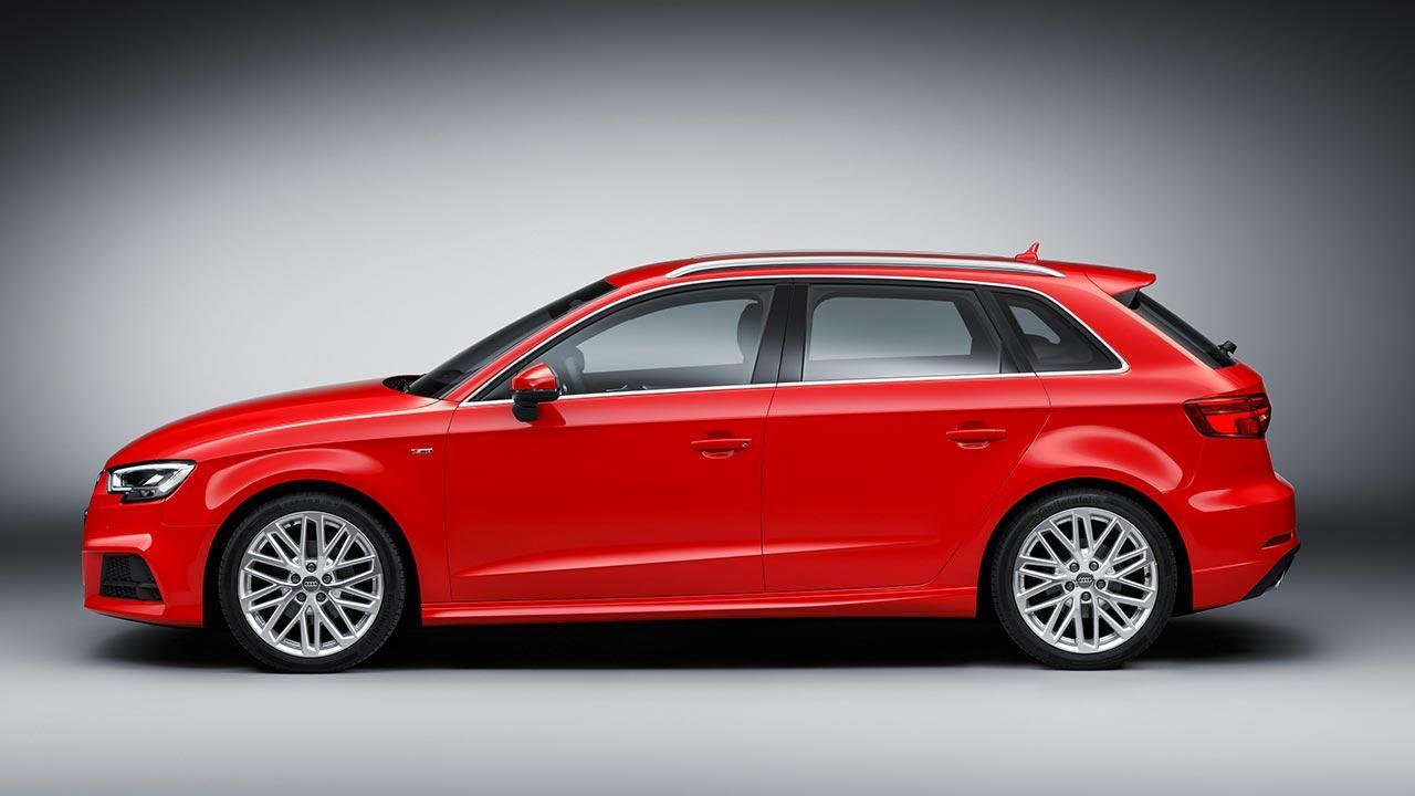 Audi A3 Sportback (2019) - Seitenansicht