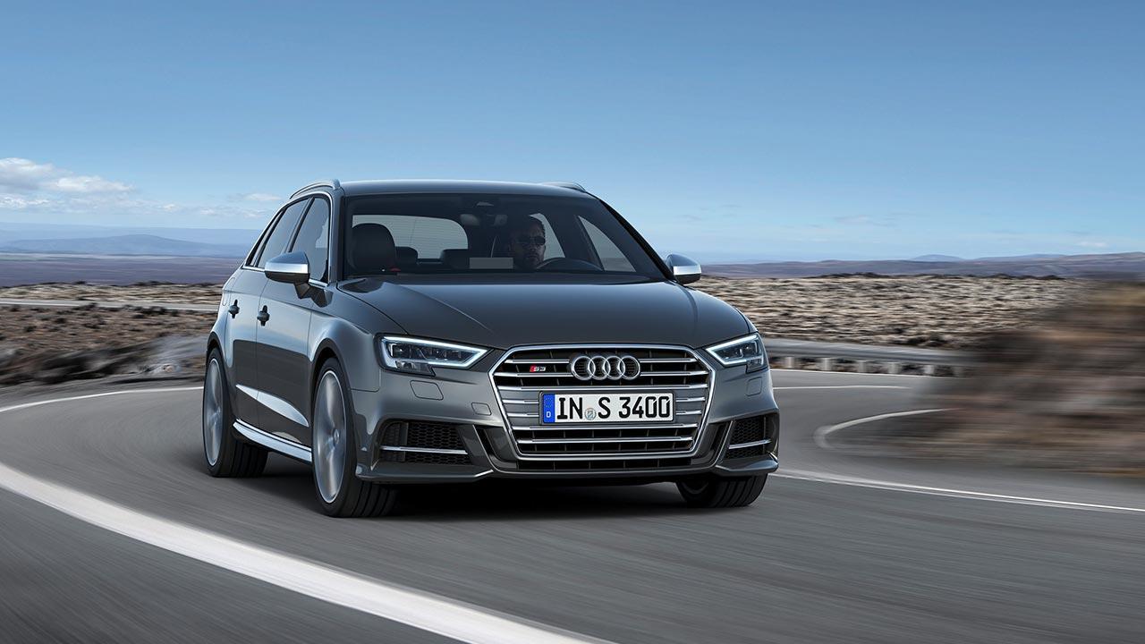 Audi S3 Sportback (2019) - in voller Fahrt